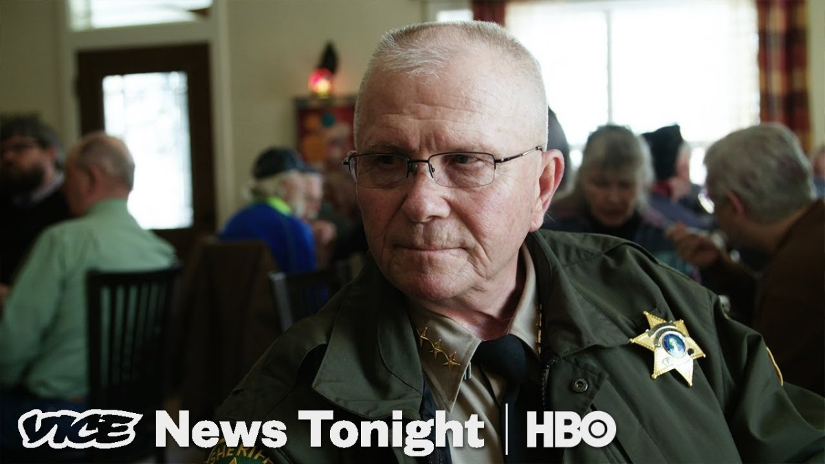 The Sheriff Refusing To Enforce Washington State's New Gun Law (HBO)